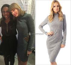 October 2, 2015   Loft '89   Toronto, Canada  Get the look: Target 'Fashion Mock Neck Ribbed Dress' - $28