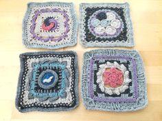 Minun ei pitänyt innostua virkkaamisesta tai yhteisöllisistä kässäprojekteista. Sitten tuli Kalevala CAL ja olin virkkuukoukussa! Tuli, Blanket, Crochet, Crocheting, Chrochet, Blankets, Carpet, Knits, Hand Crochet