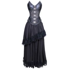 So excited to get this from The Violet Vixen. Midnight Malevolent Maelstrom Corset Dress #thevioletvixen