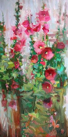 Northwest landscapes, florals and figures in paint.