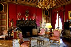 Beautiful Interiors, French Interiors, Antique Interior, Old World Style, Louis Xiv, Classic Interior, France, French Decor, Two By Two