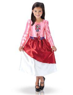 Princess Fancy Dress Costume, Fancy Dress Costumes Kids, Disney Princess Costumes, Vestidos Color Rosa, Oriental Fashion, Oriental Style, Disney Girls, Satin Dresses, Unisex