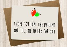 I hope you love the present you told me to buy for you | Merry Christmas everyone!