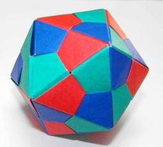 Kusudama - Origami Icosahedral