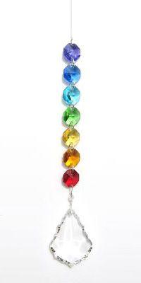Chakra Starburst Crystal Rainbow Light / Suncatcher