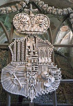 Bone Church/Sedlec Ossuary Coat of Arms, Czech Republic