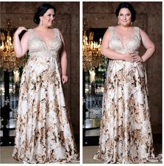 Beautiful Plus Size Prom Dresses Straps Floor-length Long Prom Dress Evening Dresses Plus Size, Plus Size Dresses, Plus Size Outfits, Curvy Girl Fashion, Plus Size Fashion, Mode Plus, Party Dress, Dress Up, Gowns