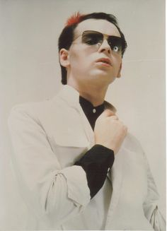 """Gary Numan (born Gary Anthony James Webb on 8 March 1958). English singer, composer, and musician. Most widely known for his chart-topping 1979 hits """"Are 'Friends' Electric?"""" and """"Cars"""","""