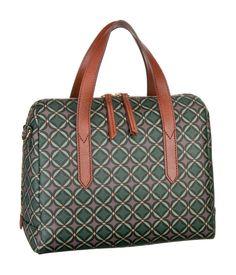 Eine praktische Damen-Handtasche für Globetrotter. #handtasche #fossil