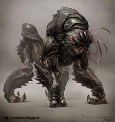 Infamous 2 #Creature Concept by Jerad S Marantz. Artist website: http://jeradsmarantz.blogspot.ro/