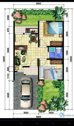 Casa en pequeño terreno