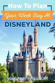 How To Plan Your Week Stay At Disneyland with our great tips for traveling, staying, and planning!