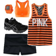 Running gear., created by amandalbuck85 on Polyvore