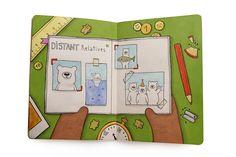 The Sketchbook Project by Zlatina Gocheva, via Behance