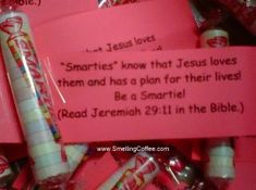 If you are handing out candy this Halloween... Be the Light of Jesus! SmellingCoffee.com