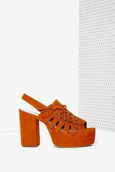 Jeffrey Campbell Nedra Suede Platform | Shop Shoes at Nasty Gal!