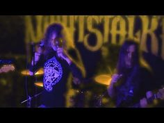 """Nightstalker is a stoner rock band from Athens, Greece. This is recorded with permission of """"NIGHTSTALKER"""" at the Willemeen Arnhem on of April the. Stoner Rock, Rock Music, Rock Bands, Netherlands, Live, Concert, Videos, Metal, The Nederlands"""