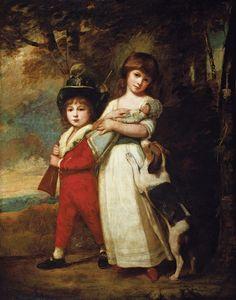 The Vernon children, by George Romney. 1785