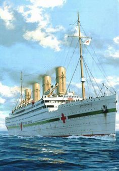 21st November 1916 HMHS Brittanic the sister ship of RMS Titanic was lost just of Lemnos in the Aegean Sea when she hit a mine. She had no casualties on board.
