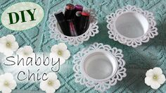 Tutorial: Contenitori Decorativi Shabby Chic | Riciclo Creativo | DIY De...