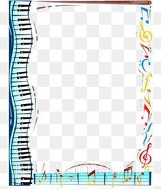 image result for free clip art musical borders transparent musical rh pinterest co uk music border clipart free Music Clip Art Frame
