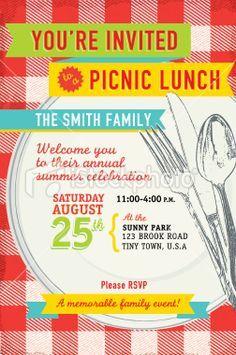 picnic flyers idea google search lunch invitation picnic invitations family reunion invitations