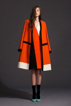 maidsofbondstreet: Yumi Lambert for Fausto Puglisi, Pre-Fall 2014