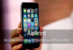 Recopilación de apps compatibles con AirPrint para iPhone y iPad