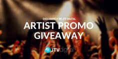 JTV Digital Is Launching An Exclusive Giveaway On Its Website. Prize Includes Online Distribution, VEVO Channel And Social Media Promo Campaign. Music Industry, Industry Trends, Video News, Your Music, Music Videos, Social Media, Digital, Artist, Giveaways