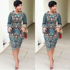 Whenever we are looking for trendy Ankara styles, Joselyn Dumas has always got us covered! She is known for her unusual and fab Ankara fashion statements and she never disappoints us when… African Fashion Designers, African Fashion Ankara, Ghanaian Fashion, African Print Dresses, African Print Fashion, Africa Fashion, African Dress, African Prints, African Patterns
