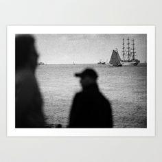 DEN HELDER SEASCAPE Art Print by Konrad Pitala - from $17.00