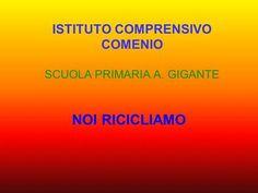ISTITUTO COMPRENSIVO COMENIO SCUOLA PRIMARIA A. GIGANTE>