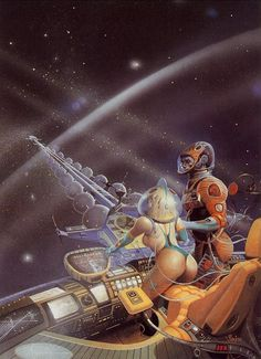 Tomorrow And Beyond Posts Tagged Peter Andrew Jones Illustrations, Illustration Art, Arte Do Pulp Fiction, 7 Arts, Serpieri, 70s Sci Fi Art, Arte Tribal, Bd Comics, Science Fiction Art