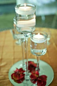 these giant wine glasses make an awesome focal point for your table centerpiece the glasses can be filled with anything with water or colored water and - Floating Wine Glass