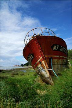 Boat Graveyard by LancePerryman