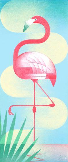 "Geometric Birds par Samy Halim|   ❥""Hobby&Decor "" | @hobbydecor/instagram | decor | interiordesign | arquitetura | art | #wallpaper"