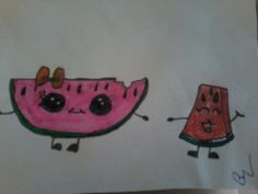Watermelon #mydraw