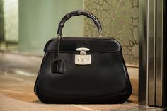 The FW 13-14 Gucci Lady Lock Top Handle Bag shot by Lailli Mizra, UAE 2013