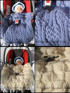 Ravelry: Car Seat Blanket by Claire Topping