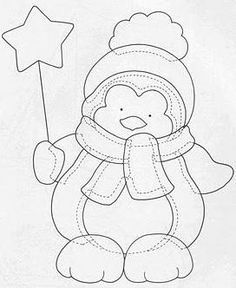 Embroidery patterns for baby templates 21 Ideas for 2019 Christmas Applique, Christmas Sewing, Christmas Embroidery, Felt Christmas, Christmas Colors, Christmas Ornaments, Motifs D'appliques, Applique Templates, Free Applique Patterns