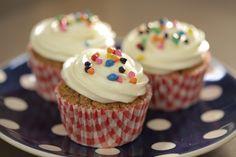 #Cupcakes de #calabaza con crema de queso