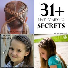31+ Hair Braiding Secrets howdoesshe.com
