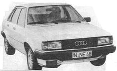 Audi Quattro, EA 262/A3. IN-NE-48 Audi 80 mule fitted with 4WD, centre diff and Audi 200T engine. IN-NE-48 was the final Audi 80 based mule built in '79 after the project had gained the approval of senior engineering director Dr Ernst Fiala. All later prototypes used the Coupe body