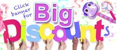 Party supplies for kids whether you are planning a tea, birthday, costume or any kind of theme parties we have the supplies you need. Birthday Coupons, Kids Party Supplies, Coupon Codes, Party Themes, Save Save, Coding, Free Shipping, Sweet, June