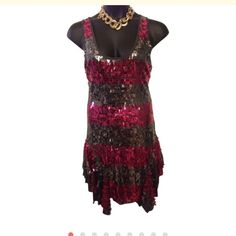 Betsy Johnson cocktail party dress Large Awesome flirty cocktail / party dress, very good condition. Betsey Johnson Dresses Midi