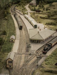 https://flic.kr/p/s1Kbjk | Barmouth Junction | Geoff Taylor's Barmouth Junction Layout oswestryworks.wordpress.com/2015/03/29/mawddach-interlude/