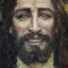 Jesus Christ Painting, Holy Quotes, Sweet Lord, Spanish Painters, Oil Portrait, Lord And Savior, King Of Kings, Anime Eyes, Christian Art