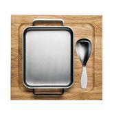 Iittala - Tools Oven Pan Wooden Tray and Spoon Set Oven Pan, Wedding List, Pan Set, Nordic Design, Kitchen Tools, Utensils, Household, Design Inspiration, Cool Stuff