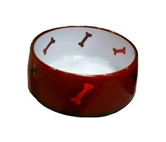 MED RED Utopian PetBowl -- You can visit the image link more details. (This is an affiliate link and I receive a commission for the sales) Elevated Dog Bowls, Raised Dog Bowls, Puppy Starter Kit, Stainless Steel Dog Bowls, Dog Water Bowls, Dog Feeder, Pet Bowls, Dog Supplies, Small Dogs