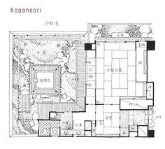 traditional japanese house plans traditional house plans s a sorting for traditional house design floor plan traditional japanese house floor plans Japanese Home Design, Japanese Style House, Traditional Japanese House, Traditional House Plans, Courtyard House Plans, Asian Home Decor, Luxury House Plans, Porches, Japanese Architecture